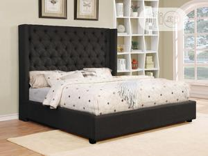 Prestige Queen Size Bed Frame Chest Upholstered Bed | Furniture for sale in Lagos State, Victoria Island