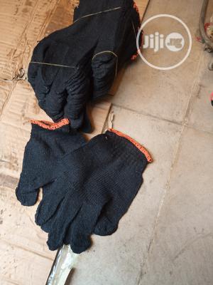 Black Cutting Hand Gloves   Safetywear & Equipment for sale in Lagos State, Lagos Island (Eko)