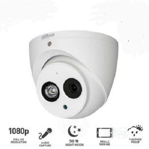 Dahua 2MP Dome CCTV Camera DH-HAC-HDW1200EMP-A 3.6mm Built-in Mic HDCV   Security & Surveillance for sale in Lagos State, Ikeja