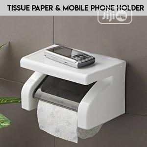 Tissue Holder With Phone Holder- Moq 12pcs   Home Accessories for sale in Lagos State, Surulere