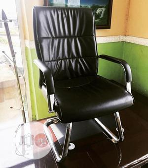 Quality Leather Visitors Office Chair | Furniture for sale in Lagos State, Badagry