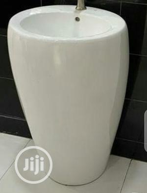 Wash Hand Full Stand Ceramics Basin | Plumbing & Water Supply for sale in Lagos State, Orile