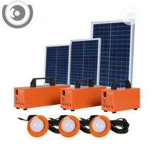 Portable Solar LED Battery Backup System (All In 1 Solar With 3 Bulbs) | Solar Energy for sale in Abuja (FCT) State, Wuse