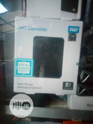 WD Element 2tb HD | Computer Hardware for sale in Lagos State, Ikeja