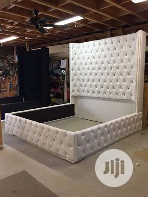 Bishop Leather Padded Bed   Building & Trades Services for sale in Lagos State, Ikeja