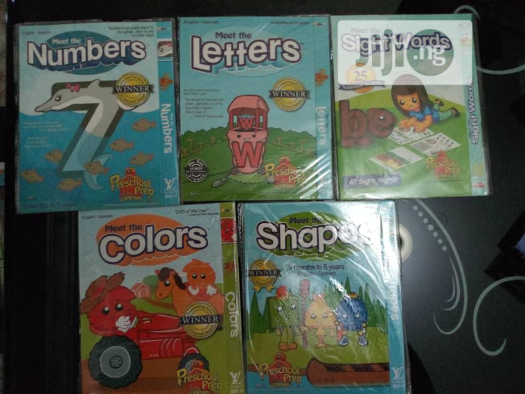 Preschool Boxset 6 Dvds | CDs & DVDs for sale in Wuse 2, Abuja (FCT) State, Nigeria