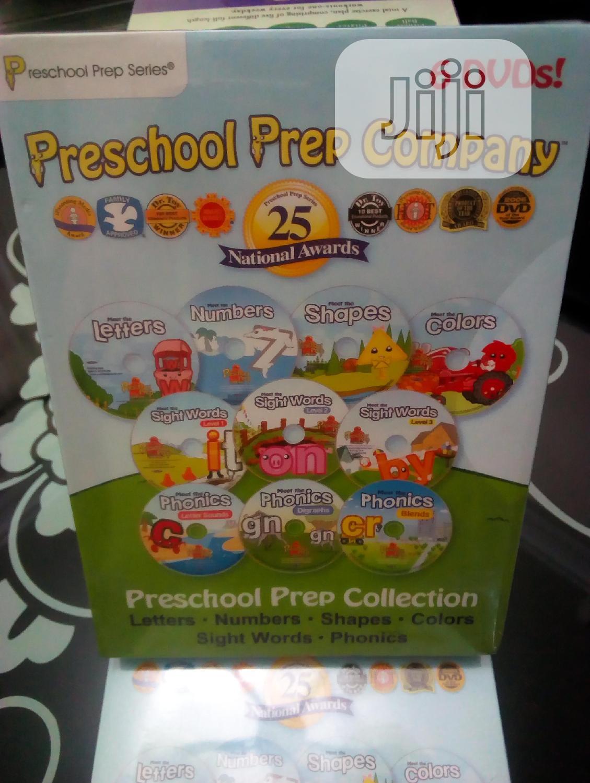 Preschool Boxset 6 Dvds