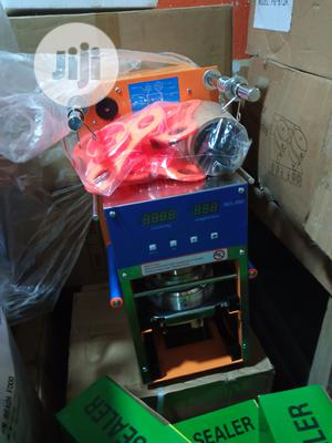 Automatic Cup Sealing Machine | Manufacturing Equipment for sale in Lagos State, Ojo