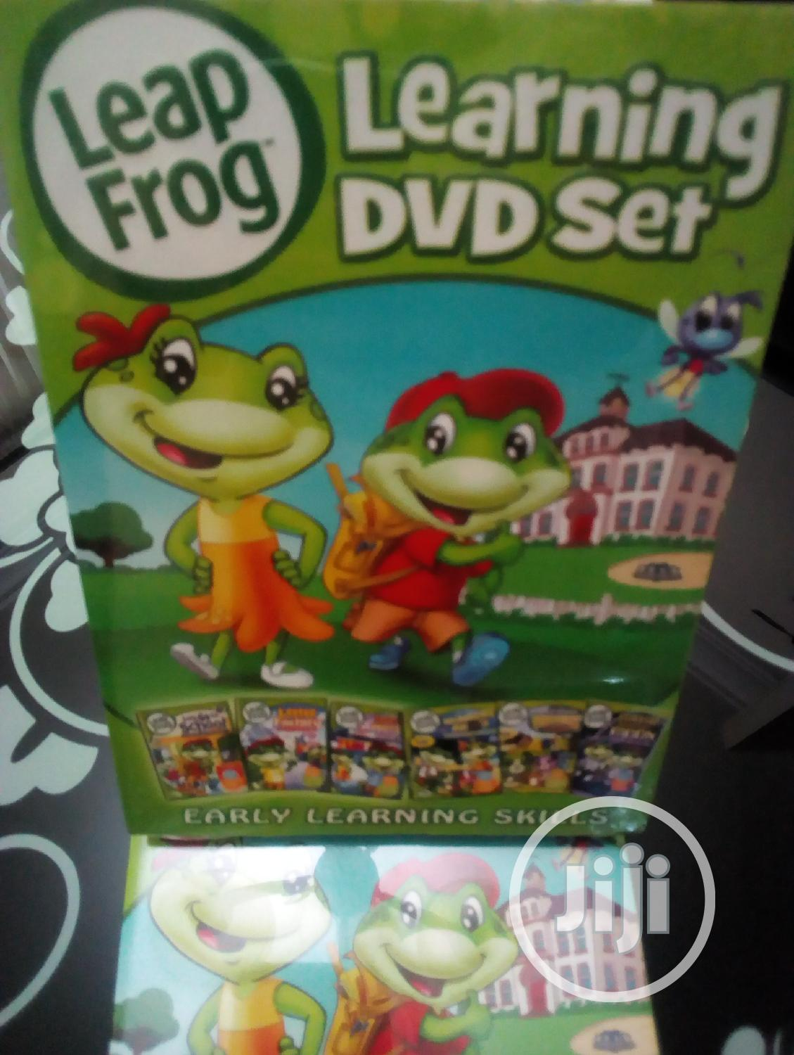 Children Learning Videos Leap Frog 6dvds | CDs & DVDs for sale in Wuse 2, Abuja (FCT) State, Nigeria