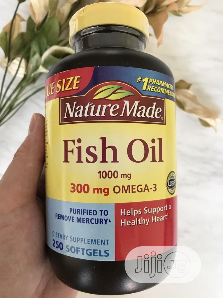 Nature Made Fish Oil 1000 Mg 250 Softgel