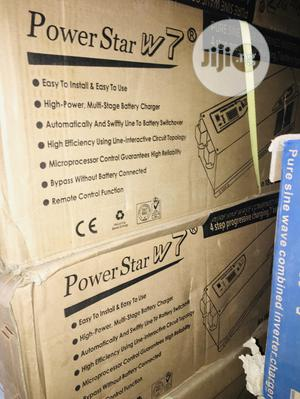 5kva 24v Power Star Pure Sine Wave Inverter Available With 1yrwaranty | Electrical Equipment for sale in Lagos State, Ojo