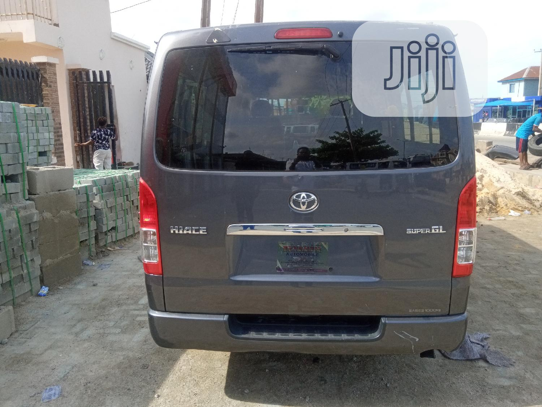 Toyota Hiace Bus 2010, Black   Buses & Microbuses for sale in Apapa, Lagos State, Nigeria