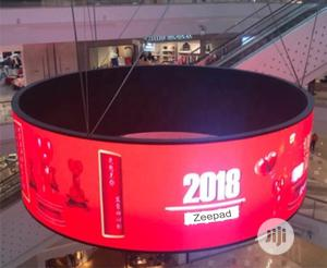 Curved Flexible LED Display Billboard | Manufacturing Services for sale in Abuja (FCT) State, Central Business District