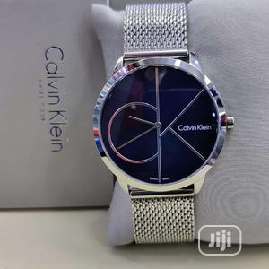 Calvin Klein (CK) Silver Net Chain Watch | Watches for sale in Lagos State, Lagos Island (Eko)