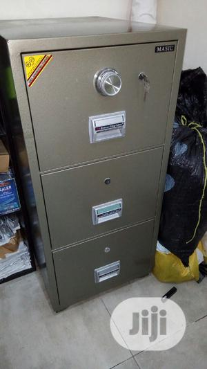 Brand New Imported 3drawers Fire Proof Safe With Security Numbers | Safetywear & Equipment for sale in Lagos State, Victoria Island