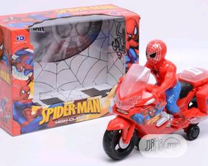 Spider-Man Motorcycle Toy - Battery Operated   Toys for sale in Lagos State, Lagos Island (Eko)