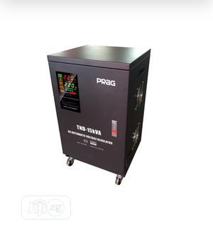 Prag 15kva Servo Voltage Stabilizer 80-260v | Electrical Equipment for sale in Lagos State, Ojo
