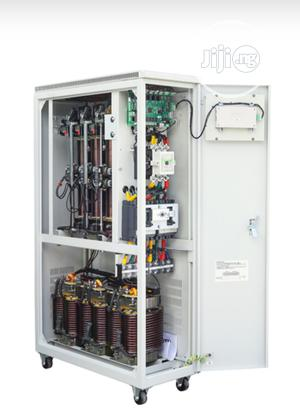 100KVA Three Phase Servo Voltage Stabilizer 380V (±30%) Input | Electrical Equipment for sale in Lagos State, Ojo