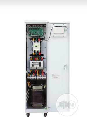 60kva Three Phase Servo Voltage Stabilizer 380V (±20%) Input | Electrical Equipment for sale in Lagos State, Ojo