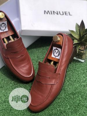 Wine Penny Loafers | Shoes for sale in Lagos State, Mushin