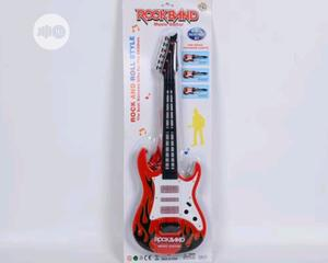 Rockband Music Toy Guitar, Red and Black   Toys for sale in Lagos State, Lagos Island (Eko)