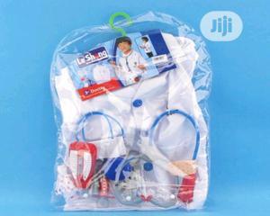 Kids Doctor White Lab Coat Boys Girls Scientist Medical Uniform Costum | Toys for sale in Lagos State, Lagos Island (Eko)