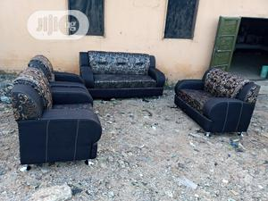 Set of 7 Seaters Sofa Chairs - Fabric Couch | Furniture for sale in Lagos State, Amuwo-Odofin