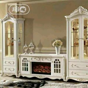 Italian Fire Plate TV Stand | Furniture for sale in Lagos State, Ojo