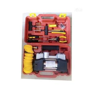 Double Cylinder Tyre Pump/Air Compressor/Inflator With Tools | Vehicle Parts & Accessories for sale in Lagos State, Alimosho
