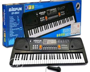 BIGFUN 61 Keys Big Fun Musical Electronic Keyboard Piano Organ   Toys for sale in Lagos State, Lagos Island (Eko)
