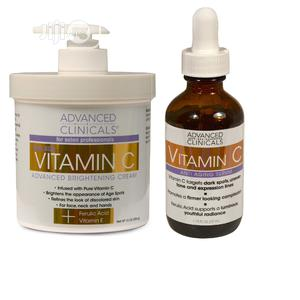 Advanced Clinicals Vitamin C Skin Care Set for Face and Body | Vitamins & Supplements for sale in Lagos State, Amuwo-Odofin
