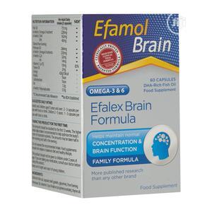 Efamol Efalex Brain Formula - 60 Caps   Vitamins & Supplements for sale in Lagos State, Alimosho