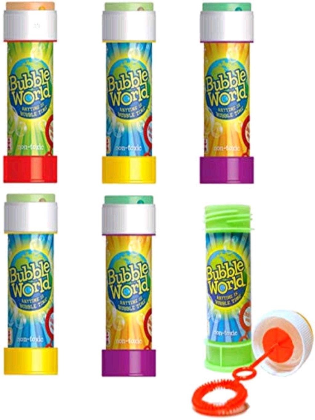 12pcs Bubble Word Toy For Kids