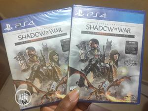 Shadow of War Definitive Edition PS4 | Video Games for sale in Lagos State, Alimosho