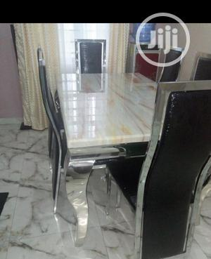 New Marble Dining Table | Furniture for sale in Lagos State, Victoria Island