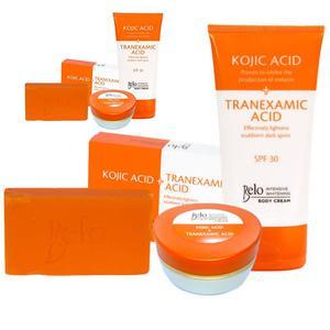 Intensive Koji & Tracid Whitening Set - Body Cream, Face Cream & Soap | Bath & Body for sale in Lagos State, Amuwo-Odofin