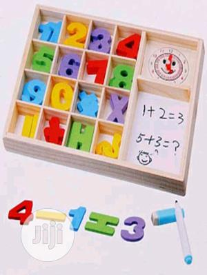 PLAY CUBE Wooden Computation Study Box With Clock and Abacus | Toys for sale in Lagos State, Lagos Island (Eko)