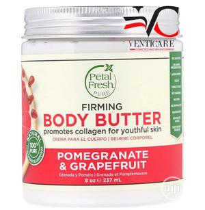 Petal Fresh Pure Body Butter Firming Pomegranate & Grapefruit, 237ml | Skin Care for sale in Lagos State, Ojo