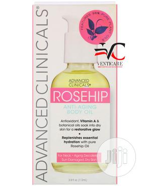 Advanced Clinicals Rosehip Anti-aging Body Oil 112 Ml   Skin Care for sale in Lagos State, Ojo