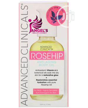 Advanced Clinicals, Rosehip, Anti-aging Body Oil - 112ml   Skin Care for sale in Lagos State, Ojo