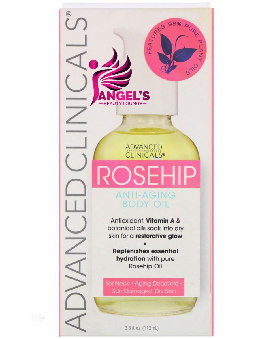 Advanced Clinicals, Rosehip, Anti-aging Body Oil - 112ml