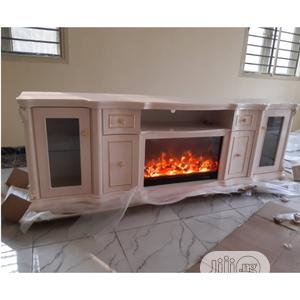 New Design Fireplace Tv Stand   Furniture for sale in Lagos State, Ibeju