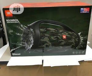Jbl Boombox 2 Amry Color Waterproof Bluetooth Speaker   Audio & Music Equipment for sale in Lagos State, Ikeja