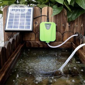 Solar Powered DC Charging Oxygenator Fishing Air Pump | Pet's Accessories for sale in Lagos State, Surulere