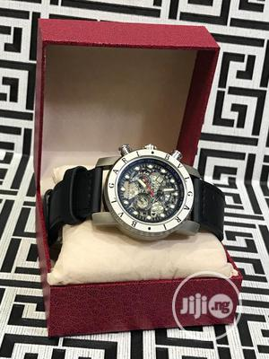 Bvlgari Leather Wrist Watch Good Quality With Guarantee   Watches for sale in Lagos State, Lagos Island (Eko)