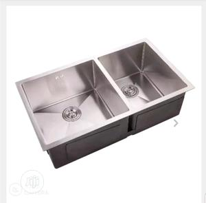 Stainless Double Bowl Sink | Plumbing & Water Supply for sale in Lagos State, Orile