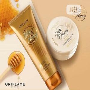Oriflame Milk Honey Body Cream Scrub Combo(250ml 200ml) | Skin Care for sale in Rivers State, Port-Harcourt
