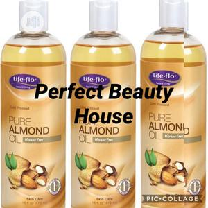 Now Foods Solutions Sweet Almond Oil 4 Flo Oz (118ml) | Skin Care for sale in Lagos State, Ikeja