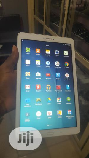 Samsung Galaxy Tab E 9.6 16 GB White   Tablets for sale in Lagos State, Ikeja