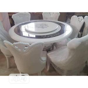 Ideal Royal Marble Dining Table(ROUND) | Furniture for sale in Lagos State, Ibeju